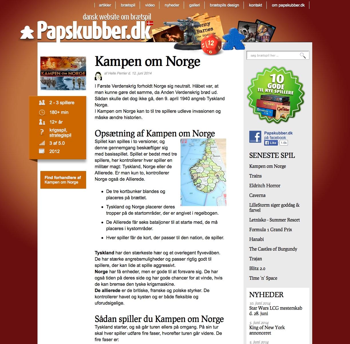KoN på papsklubber.dk