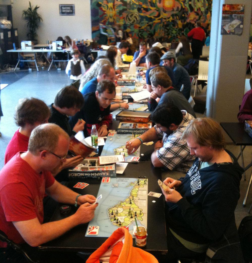 Bilde fra KoN-turneringen på Arcon 28 i 2012